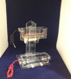 adjustable electrophoresis unit