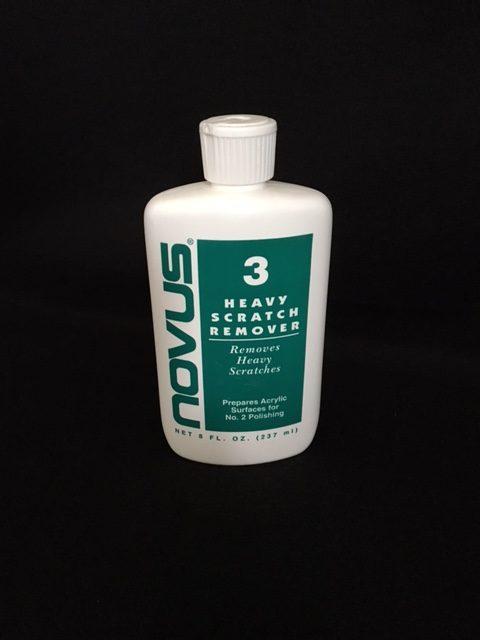 Novus 3 Heavy Scratch Remover 8 Oz